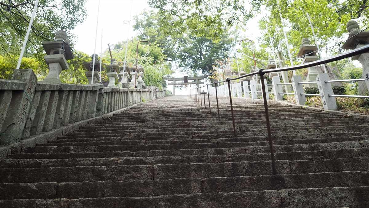 徳島市 佐古 甘味処 あんみつ姫 諏訪神社