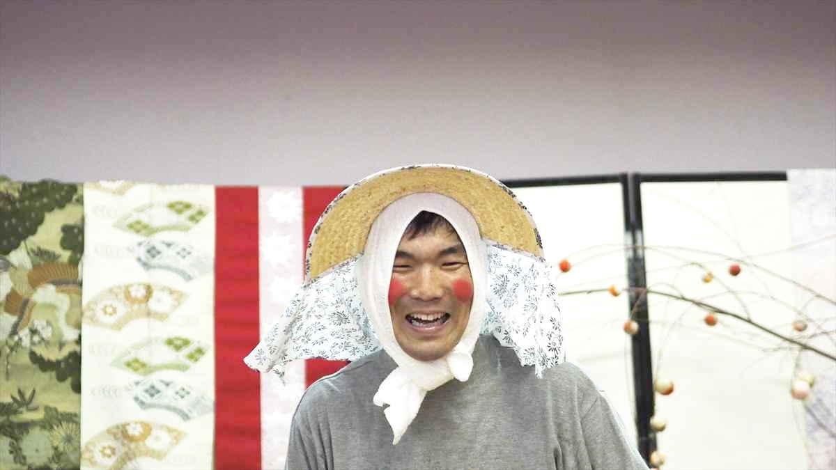 徳島住みます芸人 あちこちぽんぽこライブ 中山女子短期大学 天空の村・かかしの里