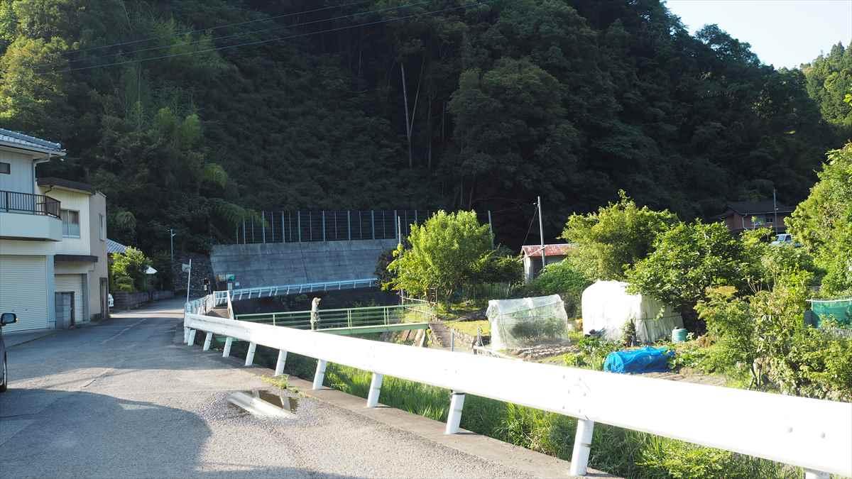 美粧園 徳島県勝浦町 アジサイ ルート