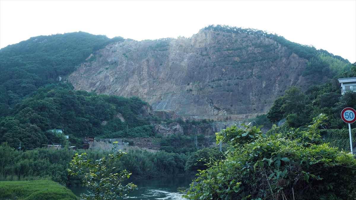 徳島県勝浦町 長柱鉱山