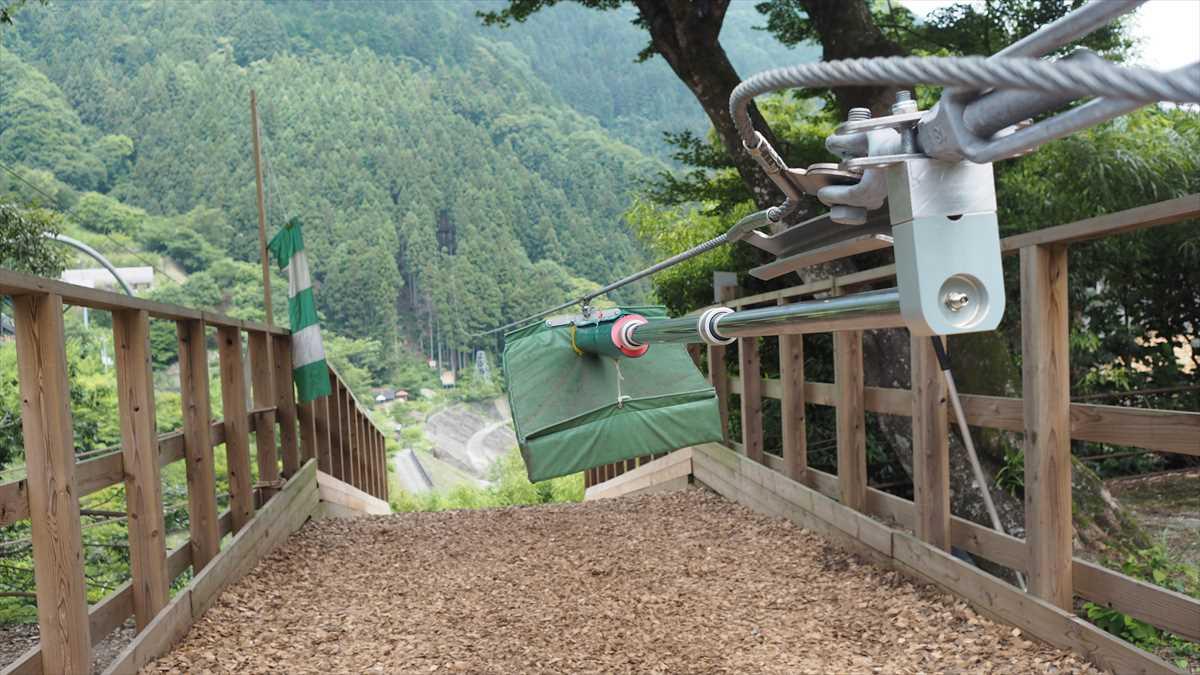 祖谷ふれあい公園 キャニオンジップスライド フォレストアドベンチャー ロングジップ ターザンロープ