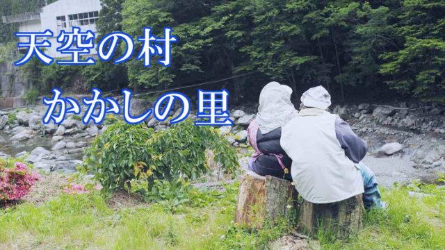 天空の村・かかしの里 徳島県三好市東祖谷菅生(すげおい) 綾野月美