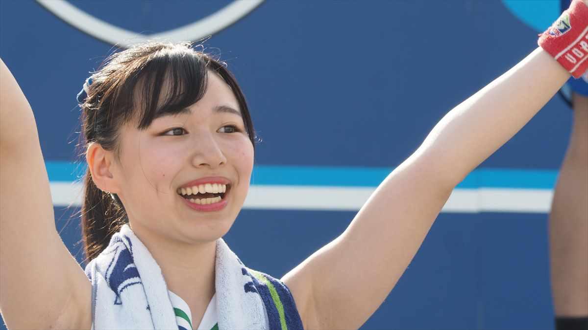 徳島ヴォルティスvsジェフ千葉 2019/7/7 ヴォルタくんステージ BLUE SPIRIT とわちゃん