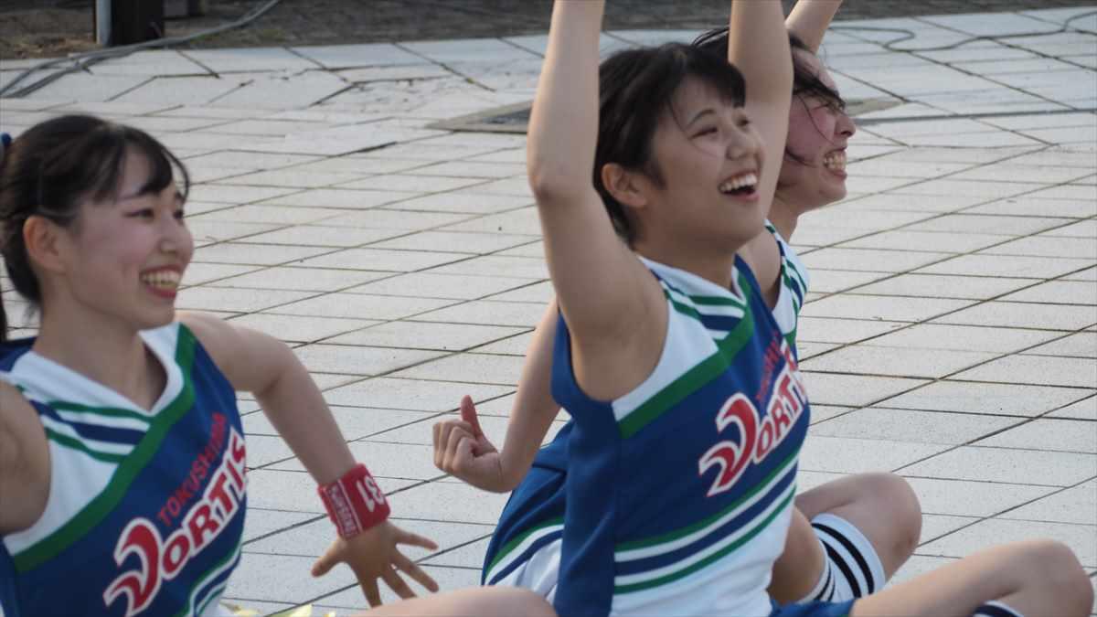 徳島ヴォルティスvsジェフ千葉 2019/7/7 ヴォルタくんステージ BLUE SPIRIT