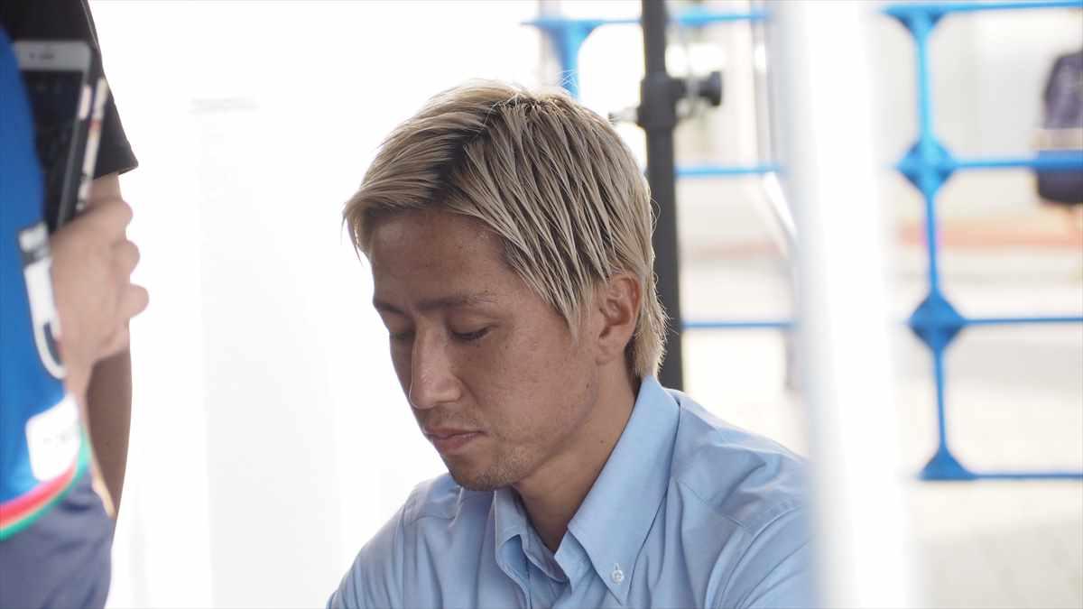 徳島ヴォルティスvsジェフ千葉 2019/7/7 選手サイン会 狩野健太