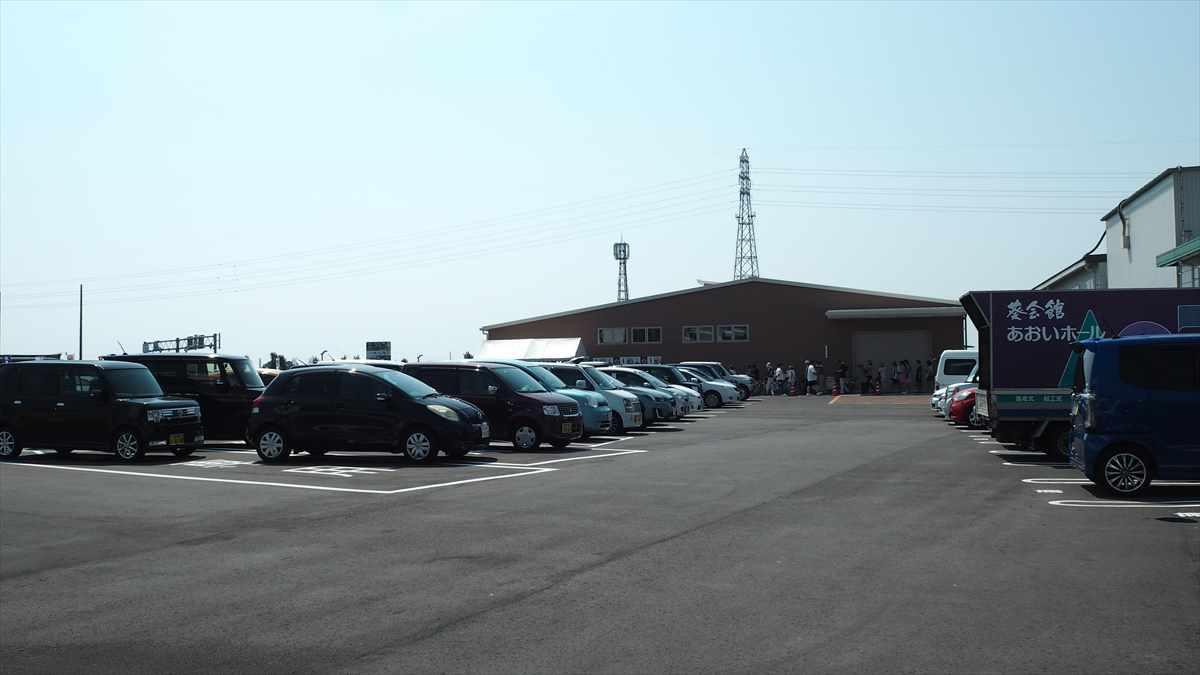 農産物直売所「えがお」 鳴門大津 JA大津松茂 駐車場