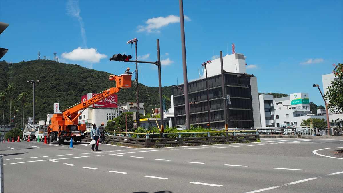 阿波踊り 準備 徳島 新町橋