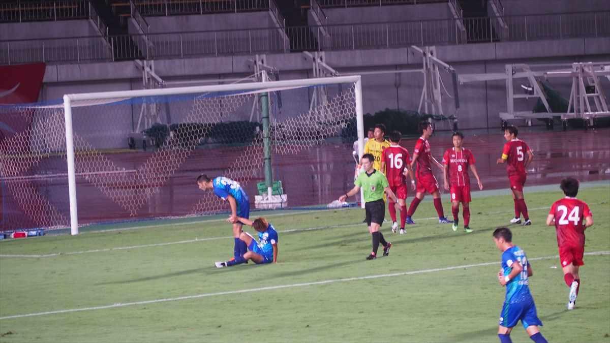 井澤春輝 Honda FC 天皇杯3回戦 2019/8/14