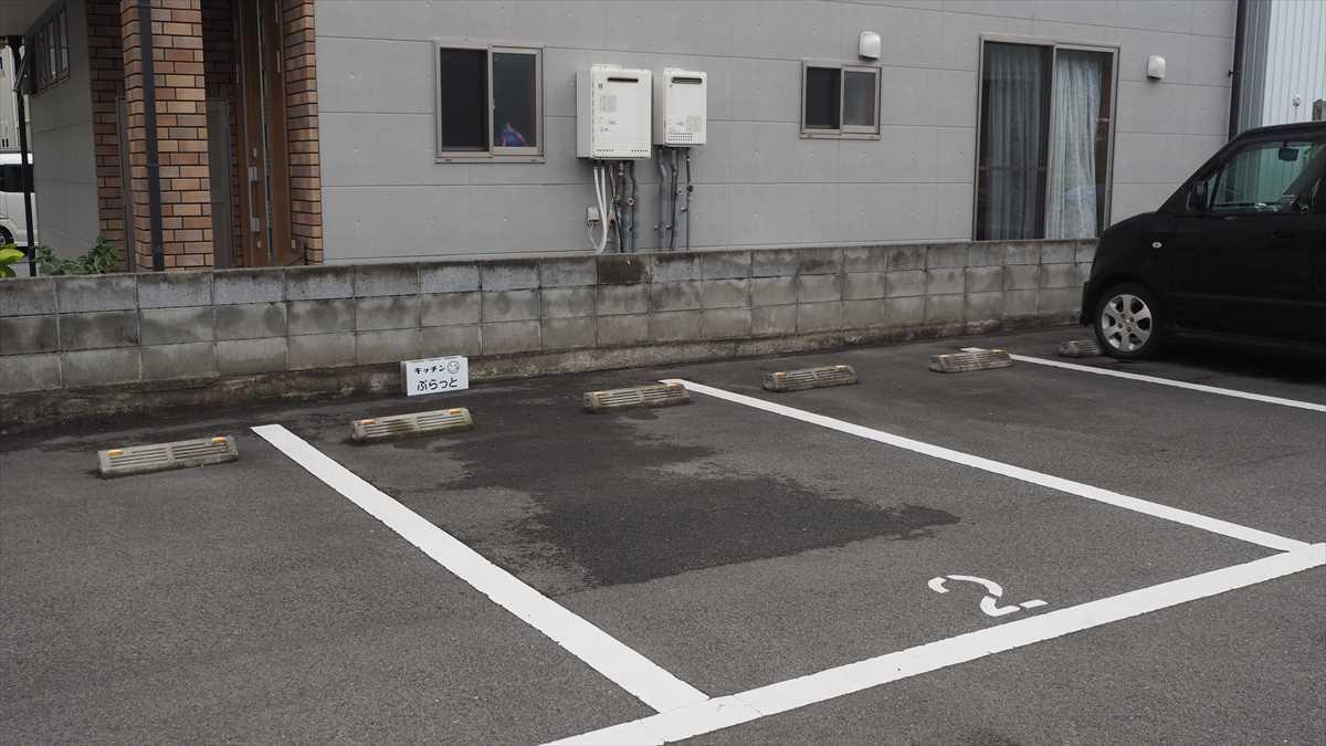 南昭和町 キッチン ぷらっと 駐車場