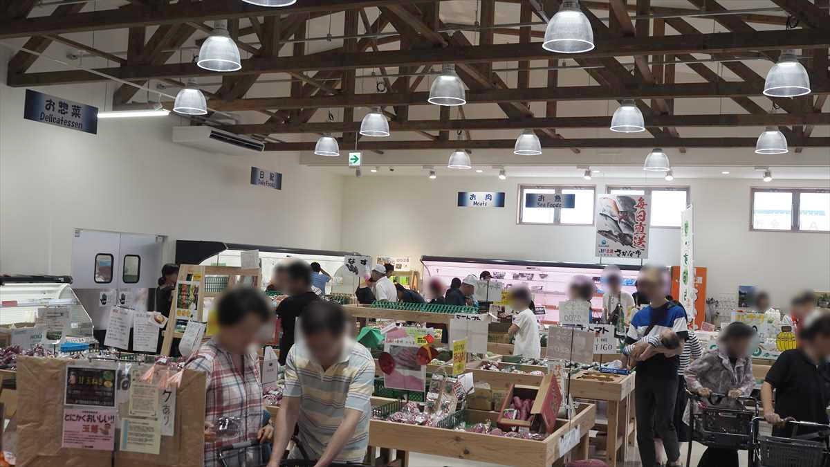 農産物直売所「えがお」 鳴門市 混雑状況