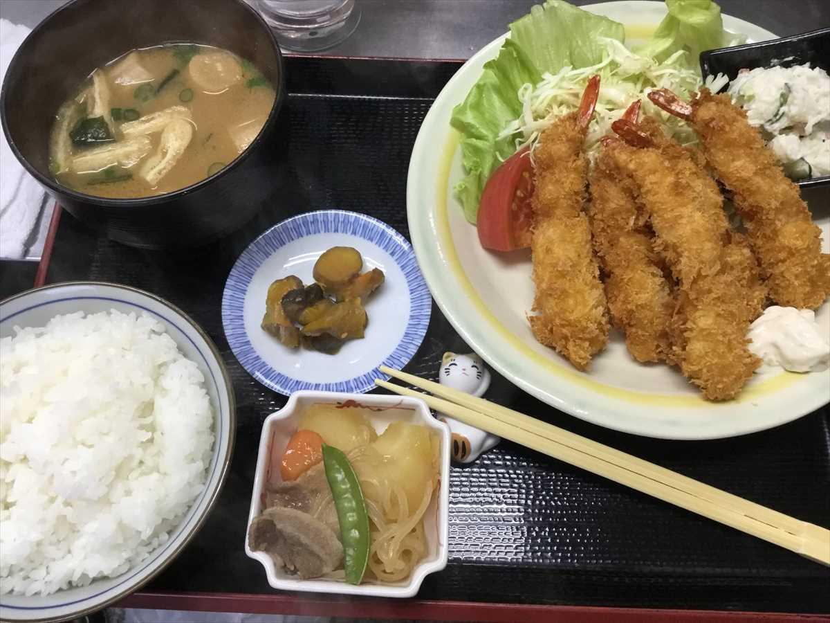 徳島市南昭和町 食堂 ぷらっと