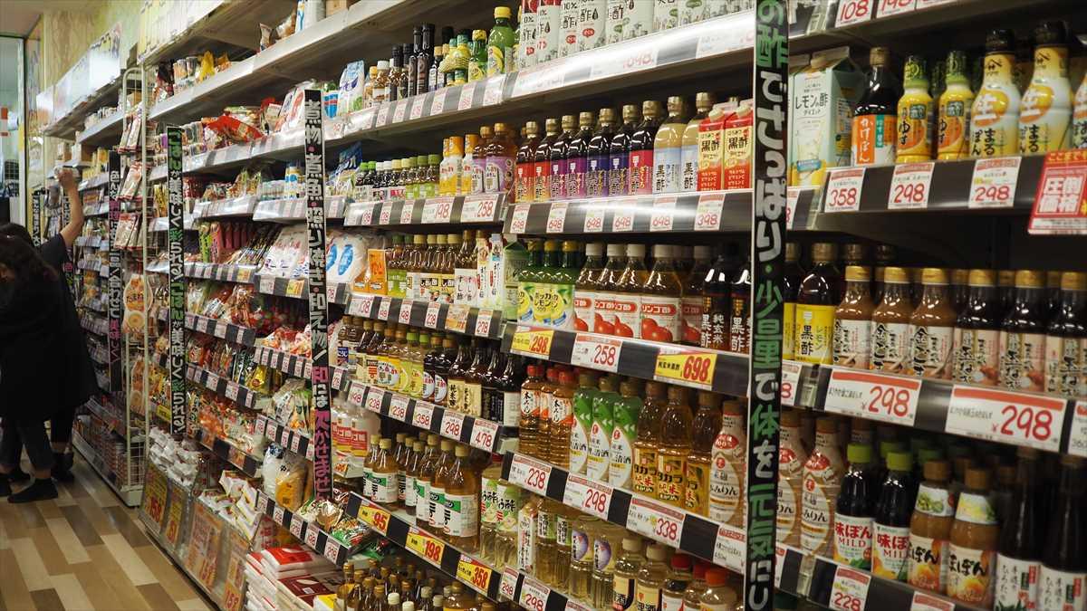 MEGAドン・キホーテ徳島店 食料品売り場 調味料