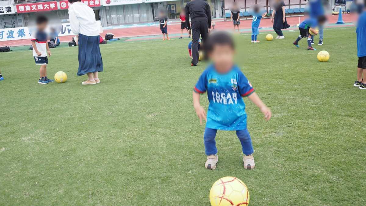 徳島ヴォルティスサッカー教室