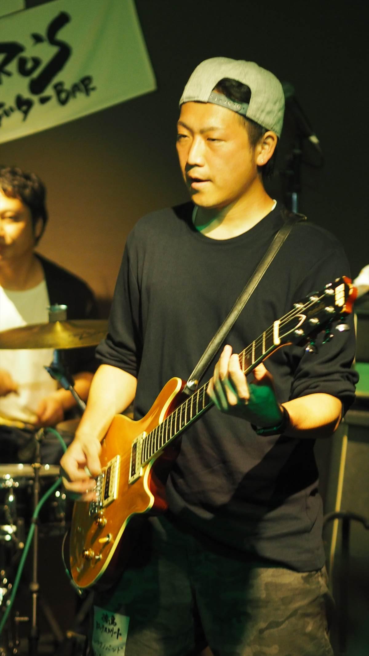 徳島ロックストリート vol.17 2019年9月29日 シフクノバンドin JIRO'SギターBAR