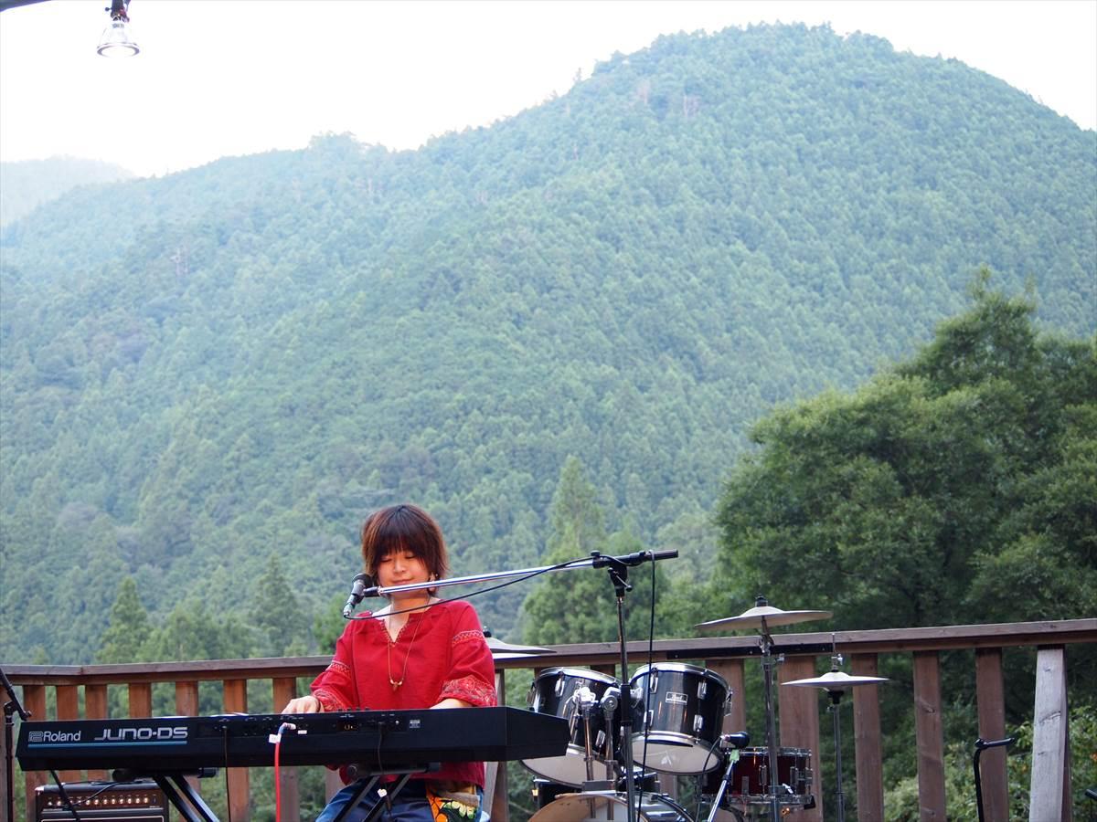 シンガーソングライター cocoro YAMABIKO MUSIC FESTIVAL 上勝町