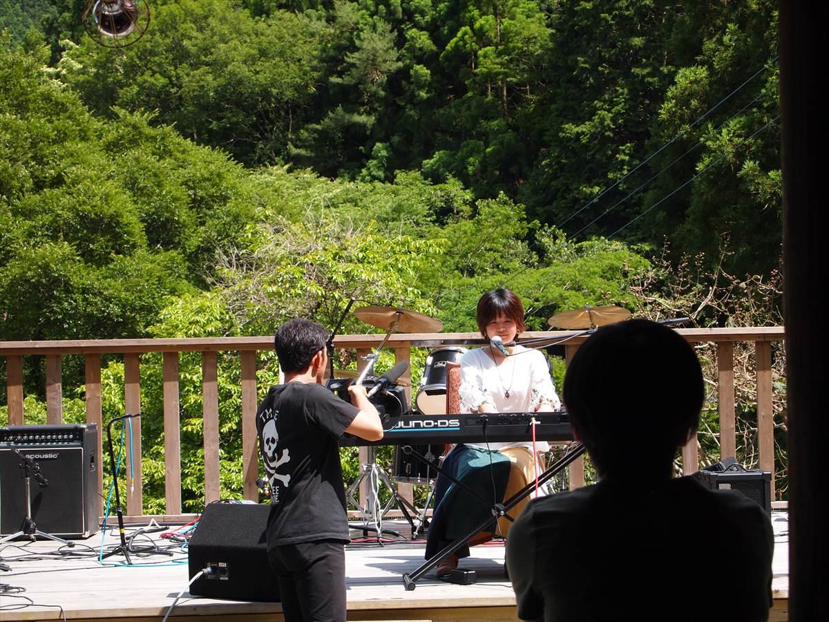 シンガーソングライター cocoro 徳島県神山町 神奈川県横浜市 YAMABIKO MUSIC FESTIVAL 上勝町