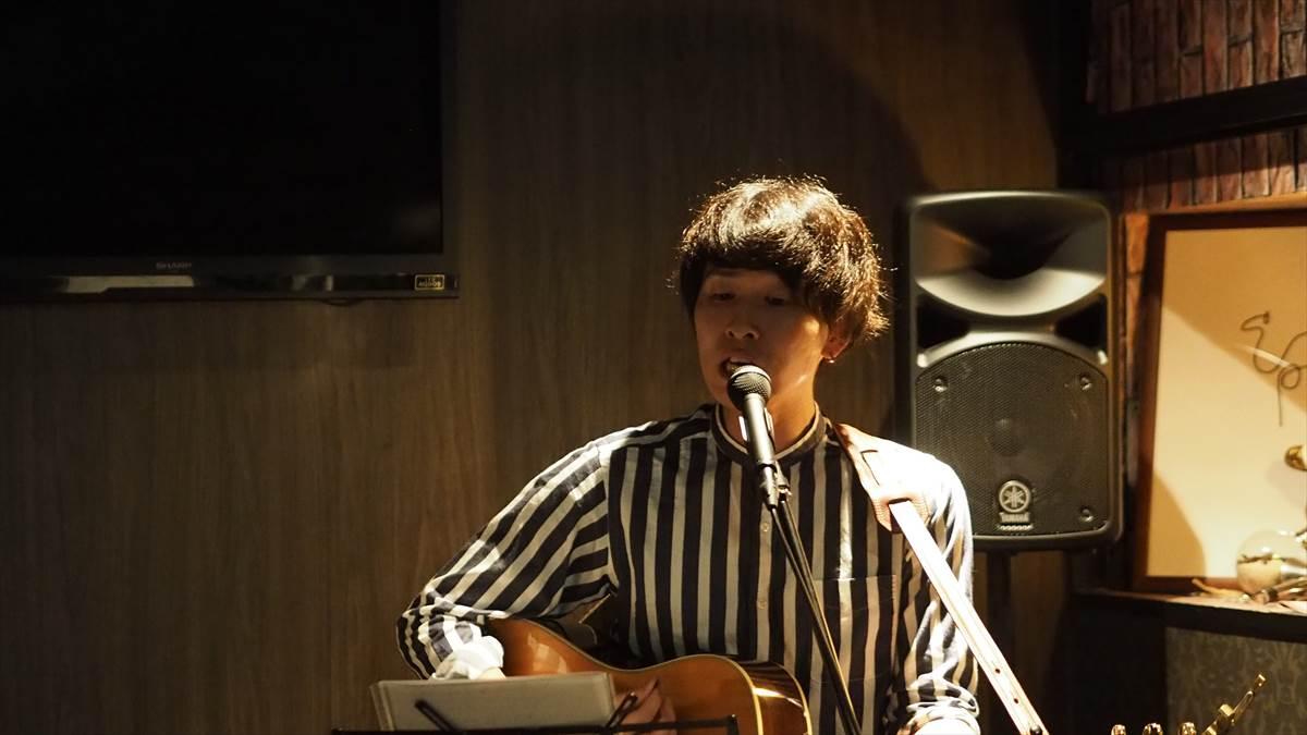 徳島ロックストリート vol.17 2019年9月29日 三橋祐太 in Bar Rumor