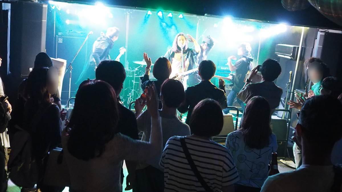 徳島ロックストリート vol.17 2019年9月29日 THE NINJA in HOTROD