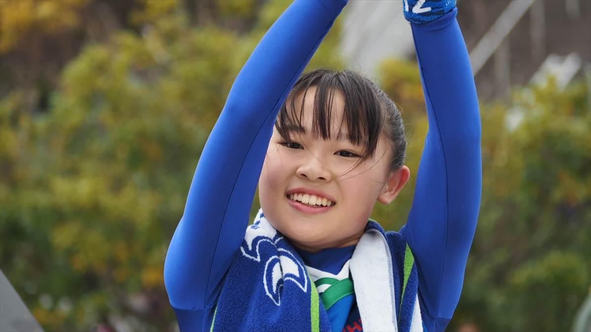 徳島ヴォルティスvsファジアーノ岡山 BLUE SPIRIT(ブルー・スピリット)さわちゃん