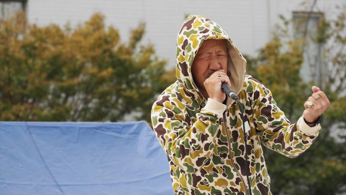 徳島ヴォルティスvsファジアーノ岡山 スタジアム学園祭 ACCHAMAN