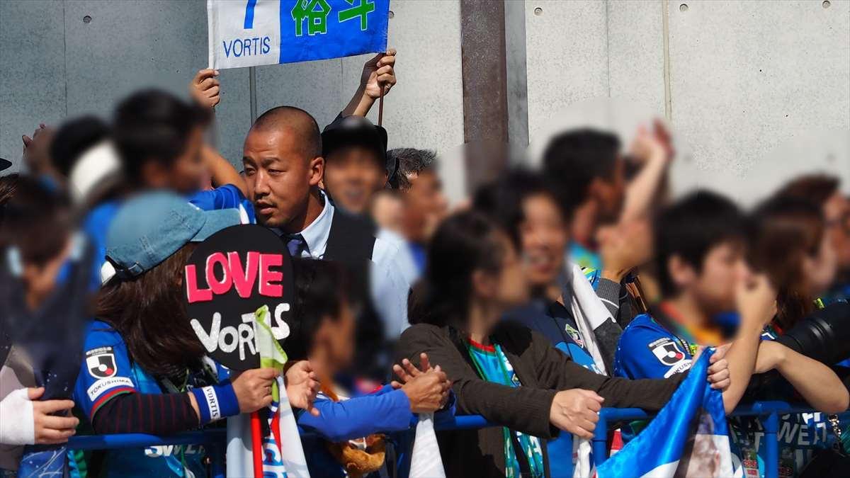 徳島ヴォルティス対水戸ホーリーホック J2リーグ 第38節 2019/10/27 松澤香輝