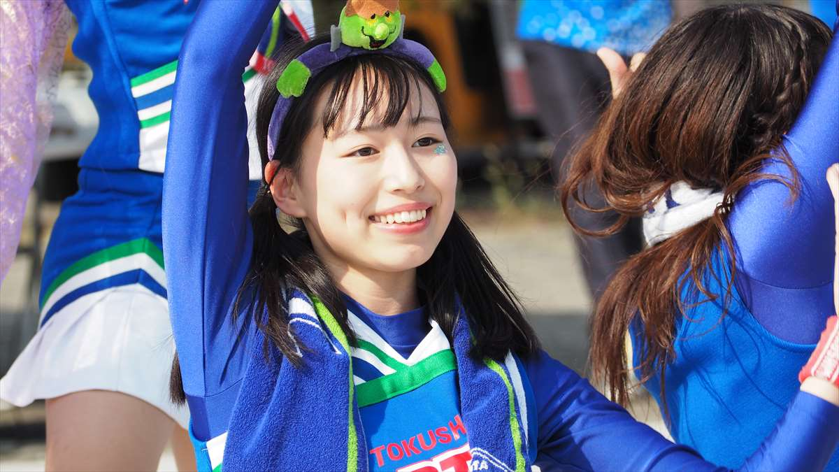 BLUE SPIRIT(ブルー・スピリット) 徳島ヴォルティス チアリーディング部 とわちゃん