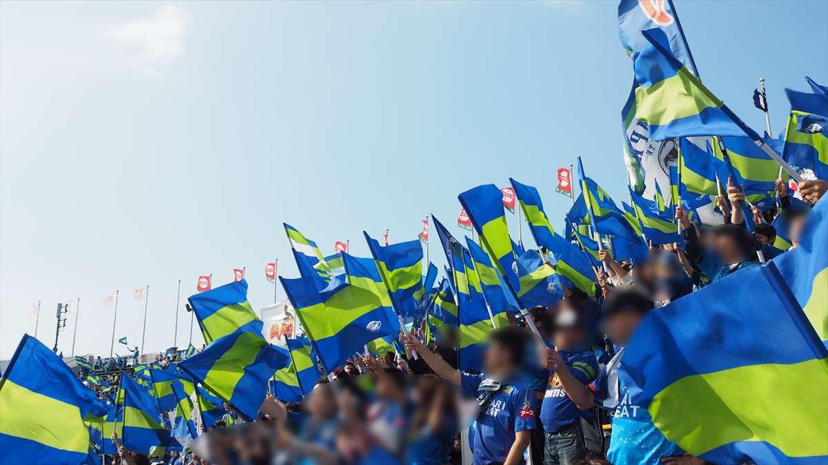 徳島ヴォルティス対水戸ホーリーホック J2リーグ 第38節 2019/10/27 徳島サポーター