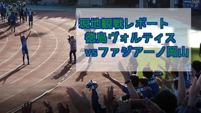 徳島ヴォルティスvsファジアーノ岡山 ポカリスエットスタジアム 徳島ヴォルティスサポーター