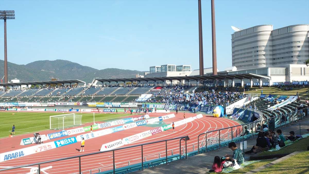FC岐阜vs徳島ヴォルティス J2リーグ 第39節 2019/11/2 徳島ヴォルティスサポーター