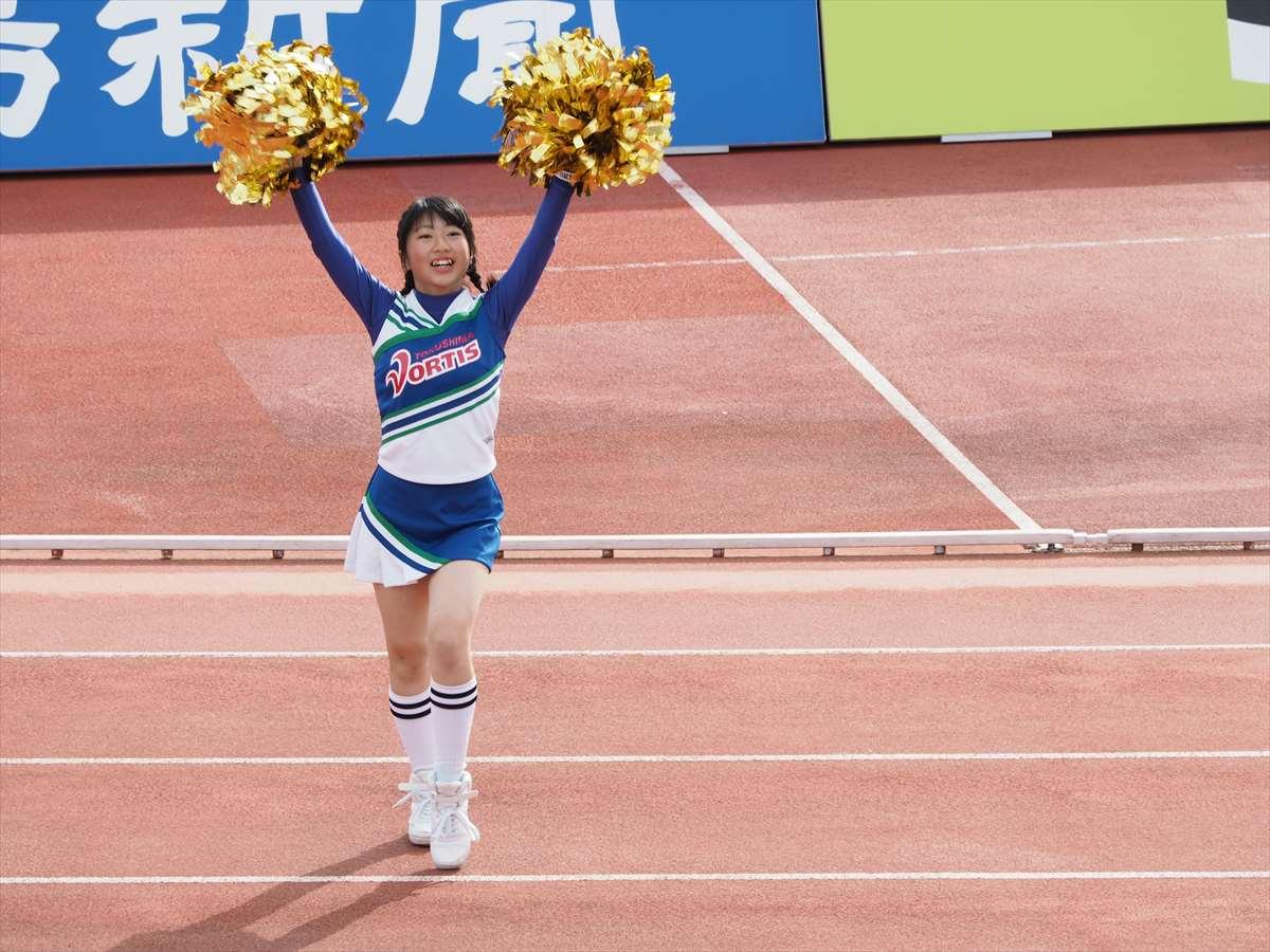 BLUE SPIRIT(ブルー・スピリット) 徳島ヴォルティス チアリーディング部 るなちゃん