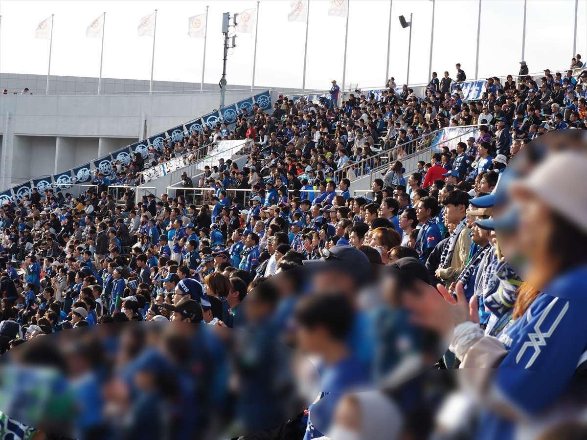 ポカリスエットスタジアム ゴール裏 ホーム自由席