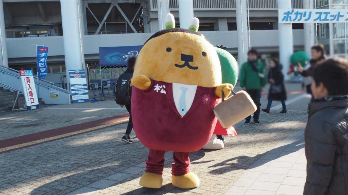 松茂係長 ポカリスエットスタジアム