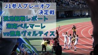J1参入プレーオフ決定戦 2019年 徳島ヴォルティス 湘南ベルマーレ