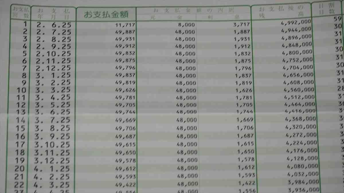 日本政策金融公庫 新型コロナウイルス感染症特別貸付 お支払額明細書 返済
