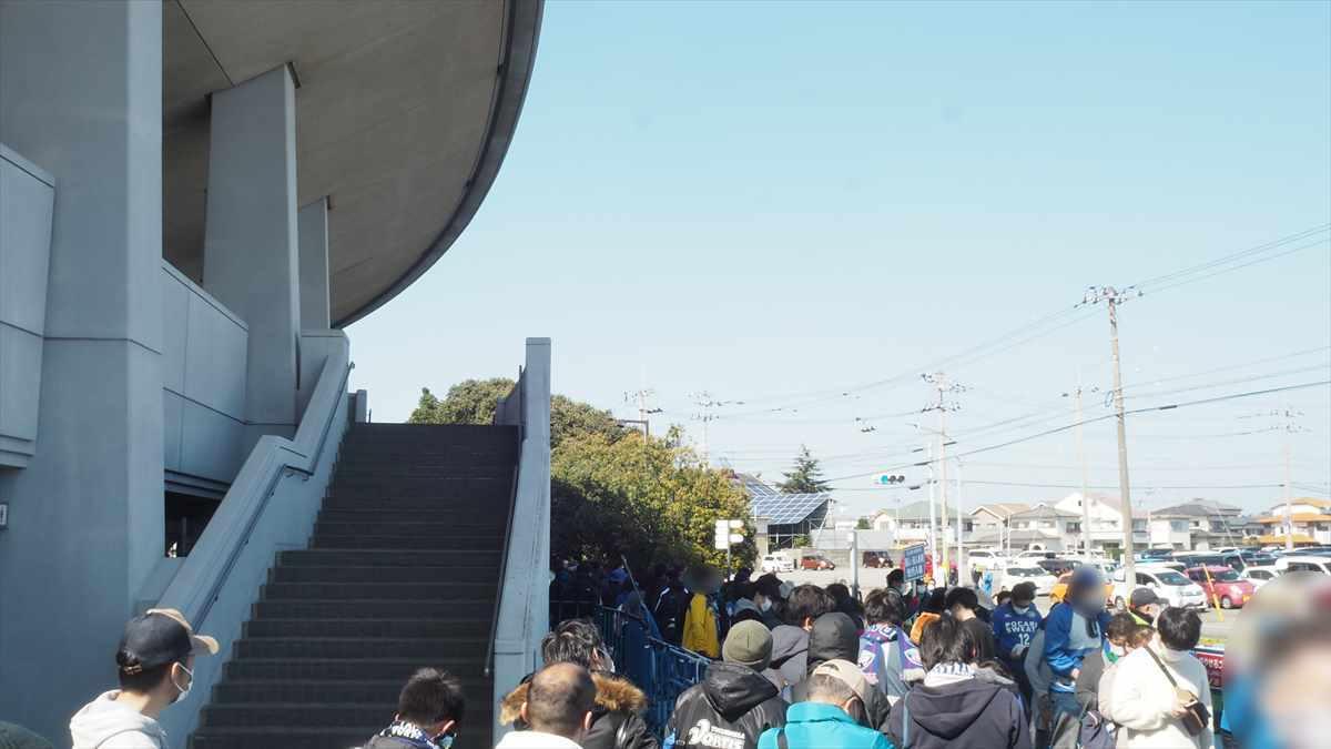 徳島ヴォルティス 東京ヴェルディ 2020年1節 ポカリスエットスタジアム