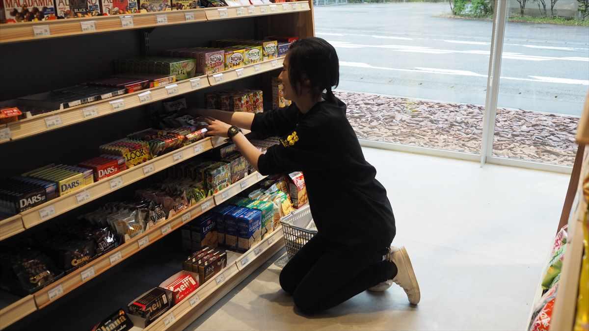 矢本結衣さん 未来コンビニ 徳島県那賀町木頭 4 PARK CAFE KITO