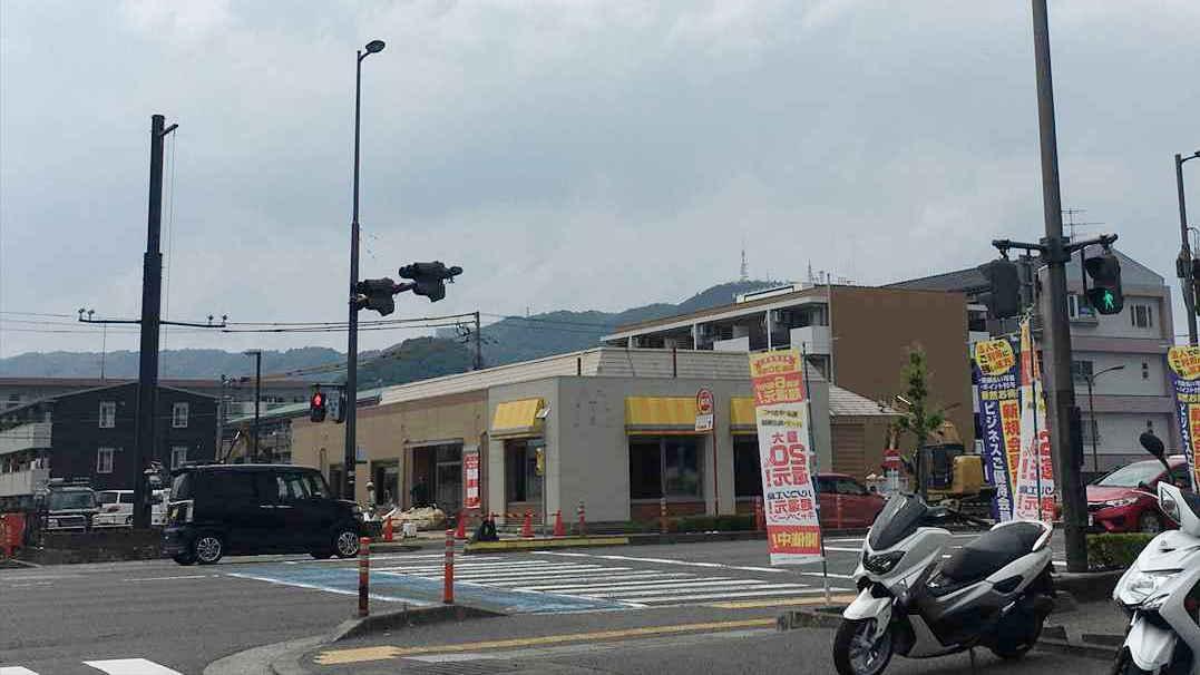 徳島市沖浜 マクドナルド 55号沖浜店 閉店 リニューアル